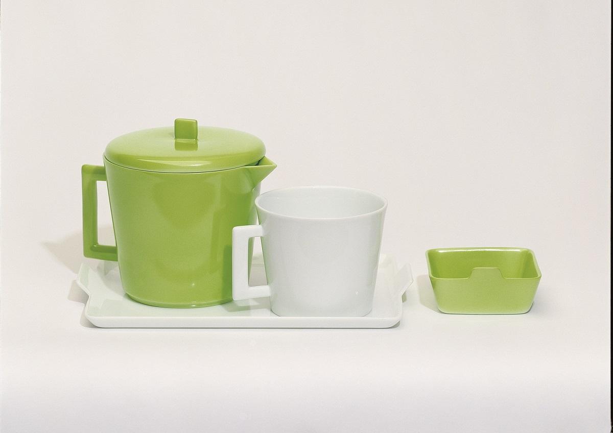 Porcelaine Raynaud - théière anis