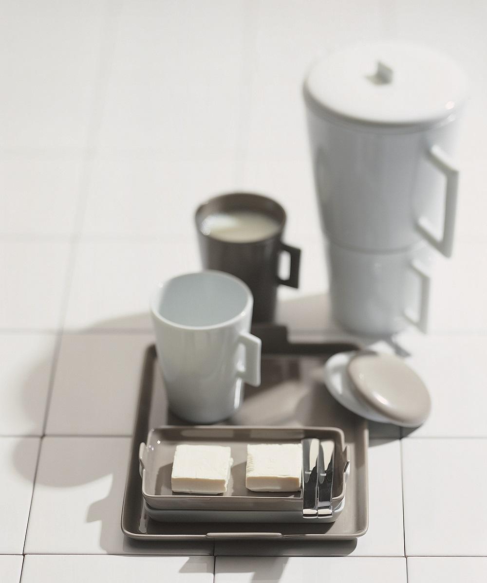 Porcelaine Raynaud - théière blanche