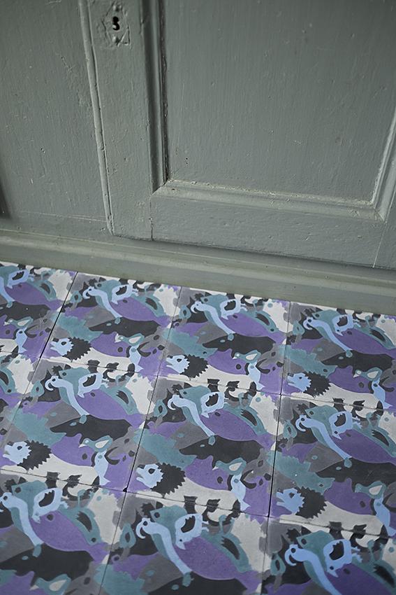 Carocim plassier animaux violet