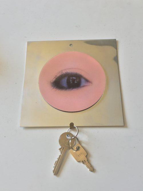 Porte-clé clin d'oeil