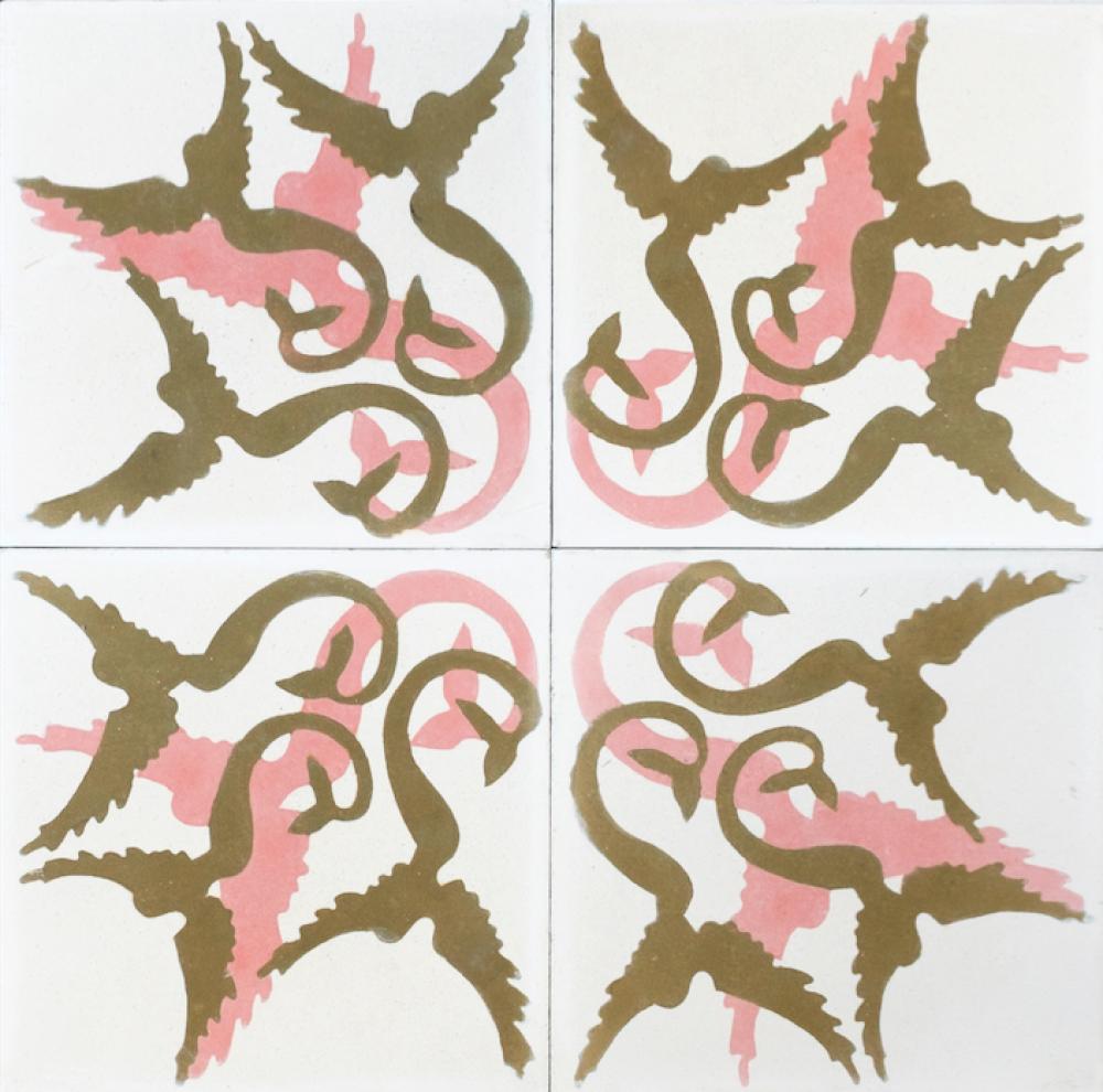 Carocim, sirènes quadruples, vue de 4, fond blanc