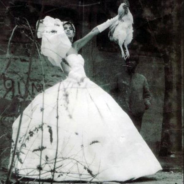 Mariée au coq, photo Serges Guérand